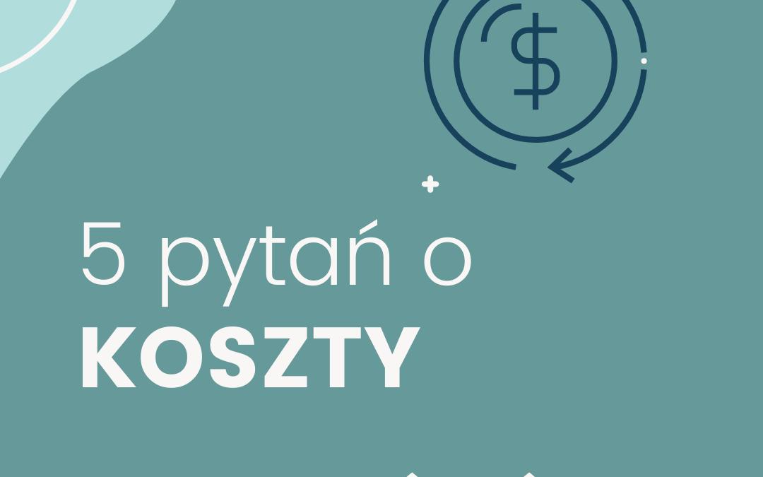 5 pytań o koszty w działalności nierejestrowanej i gospodarczej