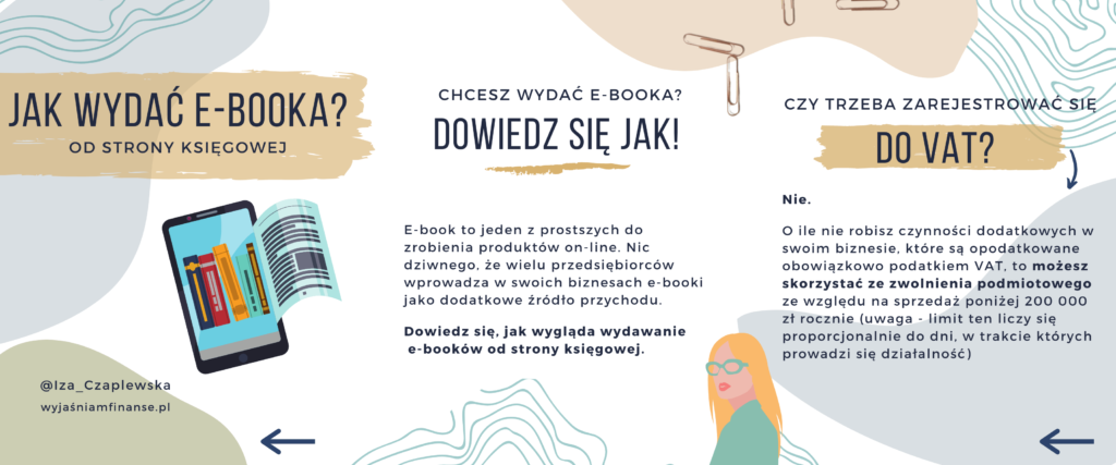 jak wydać e-booka księgowość